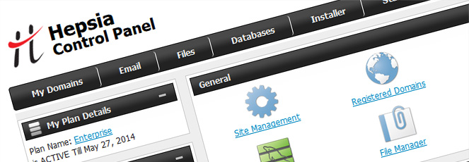 Shared Web Hosting Control Panel
